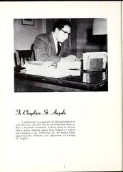 Page 8, 1957 Edition, North Central College - Spectrum Yearbook (Naperville, IL) online yearbook collection