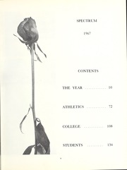 Page 7, 1967 Edition, North Central College - Spectrum Yearbook (Naperville, IL) online yearbook collection