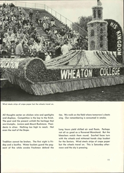 Page 17, 1960 Edition, Wheaton College - Tower Yearbook (Wheaton, IL) online yearbook collection