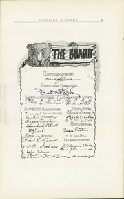 Page 13, 1909 Edition, Evanston Academy - Bear Yearbook (Evanston, IL) online yearbook collection