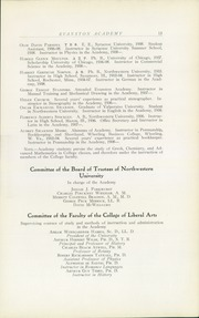Page 17, 1909 Edition, Evanston Academy - Bear Yearbook (Evanston, IL) online yearbook collection