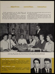 Page 17, 1957 Edition, George Williams College - Embers Yearbook (Chicago, IL) online yearbook collection