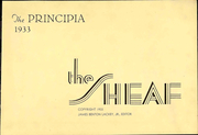 Page 7, 1933 Edition, Principia College - Sheaf Yearbook (Elsah, IL) online yearbook collection