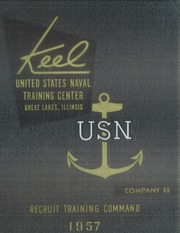 Page 1, 1957 Edition, US Navy Recruit Training Command - Keel Yearbook (Great Lakes, IL) online yearbook collection