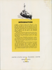 Page 7, 1957 Edition, US Navy Recruit Training Command - Keel Yearbook (Great Lakes, IL) online yearbook collection