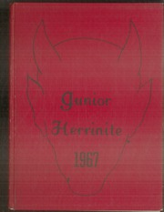 Page 1, 1967 Edition, Herrin Middle School - Junior Herrinite Yearbook (Herrin, IL) online yearbook collection