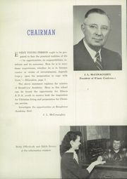 Page 10, 1951 Edition, Broadview Academy - Encore Yearbook (La Grange, IL) online yearbook collection