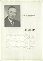 Page 10, 1952 Edition, Broadview Academy - Encore Yearbook (La Grange, IL) online yearbook collection