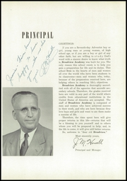 Page 11, 1952 Edition, Broadview Academy - Encore Yearbook (La Grange, IL) online yearbook collection