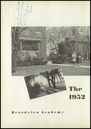 Page 6, 1952 Edition, Broadview Academy - Encore Yearbook (La Grange, IL) online yearbook collection