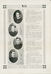 Page 37, 1913 Edition, Mount Morris College - Life Yearbook (Mount Morris, IL) online yearbook collection