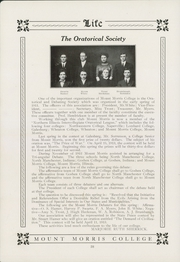 Page 42, 1913 Edition, Mount Morris College - Life Yearbook (Mount Morris, IL) online yearbook collection