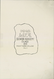 Page 5, 1913 Edition, Mount Morris College - Life Yearbook (Mount Morris, IL) online yearbook collection