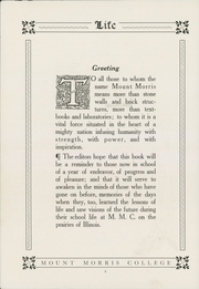 Page 8, 1913 Edition, Mount Morris College - Life Yearbook (Mount Morris, IL) online yearbook collection