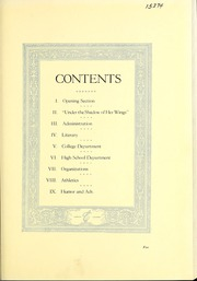 Page 11, 1924 Edition, Concordia University Chicago - Pillars Yearbook (River Forest, IL) online yearbook collection