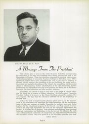 Page 10, 1949 Edition, Concordia University Chicago - Pillars Yearbook (River Forest, IL) online yearbook collection