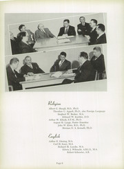 Page 12, 1949 Edition, Concordia University Chicago - Pillars Yearbook (River Forest, IL) online yearbook collection