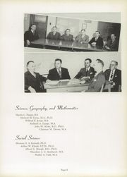 Page 13, 1949 Edition, Concordia University Chicago - Pillars Yearbook (River Forest, IL) online yearbook collection