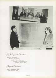 Page 15, 1949 Edition, Concordia University Chicago - Pillars Yearbook (River Forest, IL) online yearbook collection
