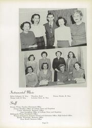 Page 17, 1949 Edition, Concordia University Chicago - Pillars Yearbook (River Forest, IL) online yearbook collection