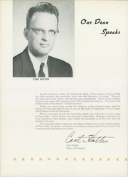 Page 10, 1959 Edition, Concordia University Chicago - Pillars Yearbook (River Forest, IL) online yearbook collection