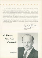 Page 11, 1959 Edition, Concordia University Chicago - Pillars Yearbook (River Forest, IL) online yearbook collection