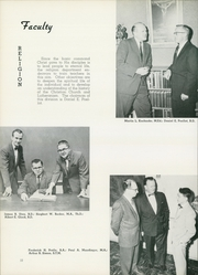 Page 14, 1959 Edition, Concordia University Chicago - Pillars Yearbook (River Forest, IL) online yearbook collection