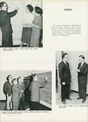 Page 16, 1959 Edition, Concordia University Chicago - Pillars Yearbook (River Forest, IL) online yearbook collection