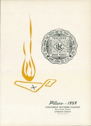 Page 5, 1959 Edition, Concordia University Chicago - Pillars Yearbook (River Forest, IL) online yearbook collection