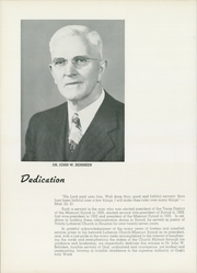 Page 8, 1959 Edition, Concordia University Chicago - Pillars Yearbook (River Forest, IL) online yearbook collection