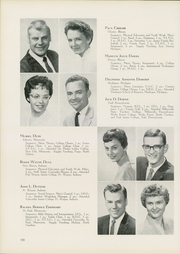 Page 104, 1960 Edition, Concordia University Chicago - Pillars Yearbook (River Forest, IL) online yearbook collection