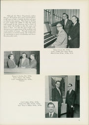 Page 75, 1960 Edition, Concordia University Chicago - Pillars Yearbook (River Forest, IL) online yearbook collection