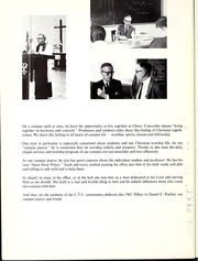 Page 12, 1967 Edition, Concordia University Chicago - Pillars Yearbook (River Forest, IL) online yearbook collection