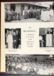 Page 6, 1962 Edition, Marshall High School - Marshallonian Yearbook (Marshall, IL) online yearbook collection
