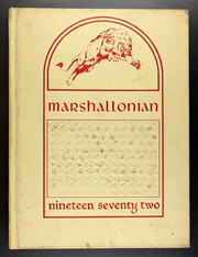 1972 Edition, Marshall High School - Marshallonian Yearbook (Marshall, IL)