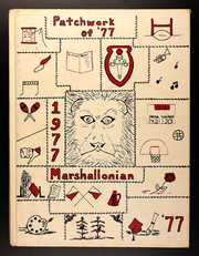 1977 Edition, Marshall High School - Marshallonian Yearbook (Marshall, IL)