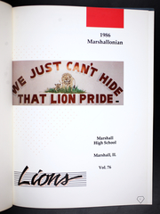 Page 5, 1986 Edition, Marshall High School - Marshallonian Yearbook (Marshall, IL) online yearbook collection