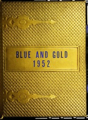 Abbott Junior High School - Blue and Gold Yearbook (Elgin, IL) online yearbook collection, 1952 Edition, Page 1