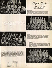Abbott Junior High School - Blue and Gold Yearbook (Elgin, IL) online yearbook collection, 1954 Edition, Page 45