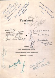 Page 5, 1935 Edition, Roosevelt Junior High School - Yearbook (Rockford, IL) online yearbook collection