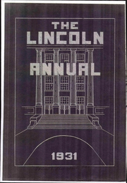Abraham Lincoln Junior High School - Annual Yearbook (Rockford, IL) online yearbook collection, 1931 Edition, Page 1
