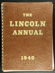 Abraham Lincoln Junior High School - Annual Yearbook (Rockford, IL) online yearbook collection, 1940 Edition, Page 1