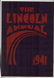 Abraham Lincoln Junior High School - Annual Yearbook (Rockford, IL) online yearbook collection, 1941 Edition, Page 1