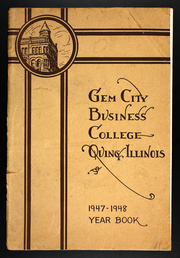 Gem City Business College - Yearbook (Quincy, IL) online yearbook collection, 1948 Edition, Page 1