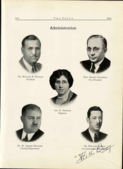 Page 15, 1932 Edition, Northern Illinois College of Optometry - Focus Yearbook (Chicago, IL) online yearbook collection