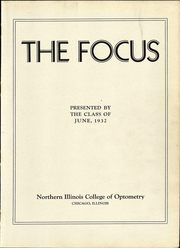Page 7, 1932 Edition, Northern Illinois College of Optometry - Focus Yearbook (Chicago, IL) online yearbook collection