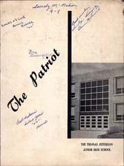 Page 1, 1964 Edition, Jefferson Junior High School - Patriot Yearbook (Naperville, IL) online yearbook collection