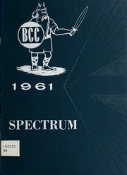1961 Edition, Bloom Community College - Spectrum Yearbook (Chicago Heights, IL)