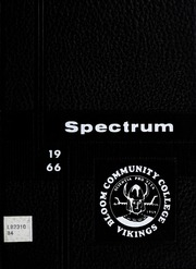 1966 Edition, Bloom Community College - Spectrum Yearbook (Chicago Heights, IL)