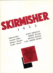 Page 7, 1952 Edition, Morgan Park Military Academy - Skirmisher Yearbook (Chicago, IL) online yearbook collection